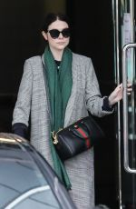 Michelle Trachtenberg Shopping in Beverly Hills