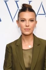 Millie Bobby Brown At 2019 WWD Beauty Inc Awards at The Rainbow Room in New York City