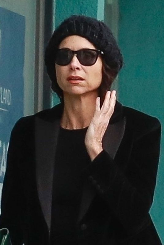 Minnie Driver Out shopping at Melrose Place
