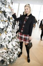 Molly McCook At Brooks Brothers Annual Holiday Celebration in West Hollywood