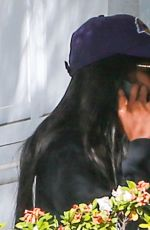 Naomi Campbell Leaving the gym in Los Angeles