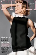 Naomi Watts - The Sunday Times Style magazine December 2019