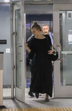 Natalie Dormer Completes an evening workout session at Equinox Gym in Encino