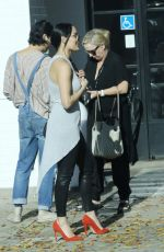 Nikki Bella and Artem Chigvintsev have lunch at Joan