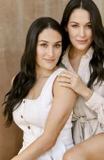 Nikki & Brie Bella - Health Magazine, January 2020