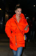 Nina Agdal Steps out in New York City