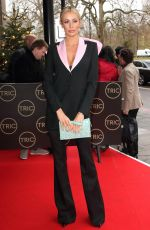 Olivia Attwood Arrives at the TRIC Christmas Charity Lunch at the Grosvenor House Hotel in London