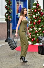 Olivia Culpo Shopping in Beverly Hills