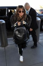 Paula Abdul Seen making her way through LAX