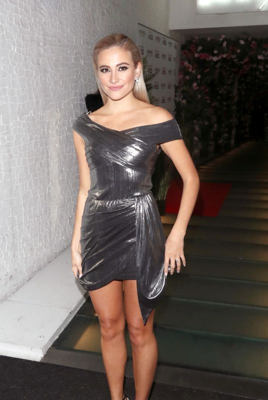 Pixie Lott At Kiss Christmas Party at Ours Restaurant in London