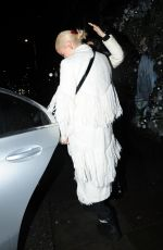 Pixie Lott Leaves the Ivy Chelsea Garden, London