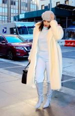 Priyanka Chopra Arriving back at her hotel in New York City
