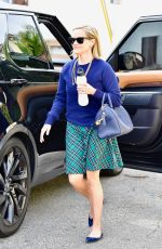 Reese Witherspoon At a spa session in LA