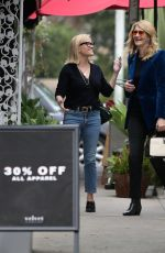 Reese Witherspoon Meets co-star Laura Dern to shop a Velvet in Brentwood
