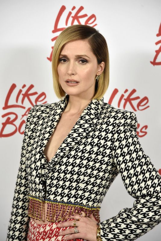 Rose Byrne At Paramount Pictures