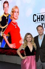 Rose McIver At A Christmas Prince: The Royal Baby Cast & Crew Screening in LA