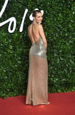 Rosie Hungtington Whiteley At The Fashion Awards at Royal Albert Hall in London