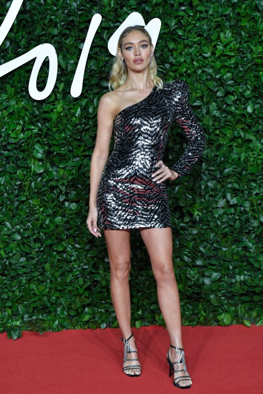 Roxy Horner Attending the Fashion Awards 2019 at the Royal Albert Hall in London