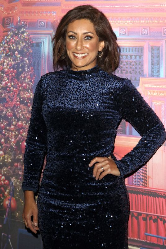 Saira Khan Attends the Emma Bunton Christmas Party at Royal Albert Hall in London