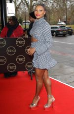 Samira Mighty At TRIC Christmas Charity Lunch at the Grosvenor House Hotel in Park Lane, London