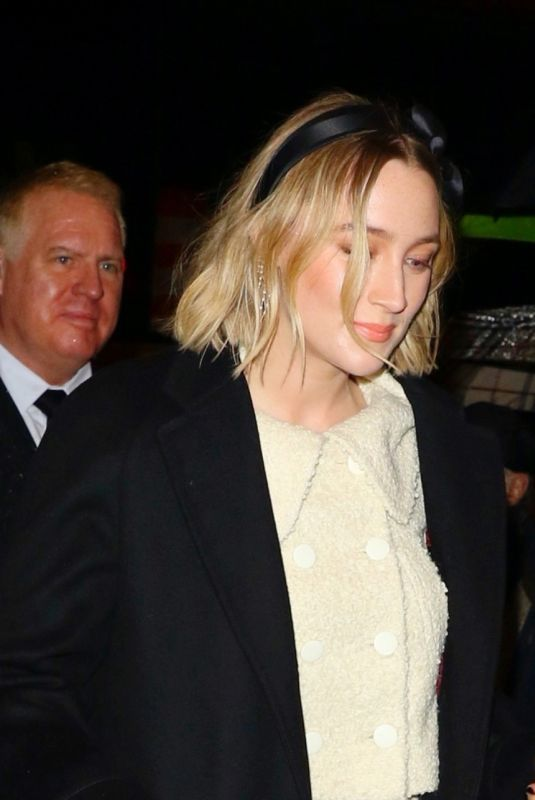 Saoirse Ronan Arrives at