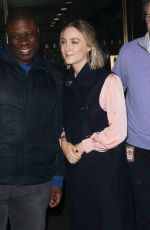 Saoirse Ronan Leaving the Today Show in New York City