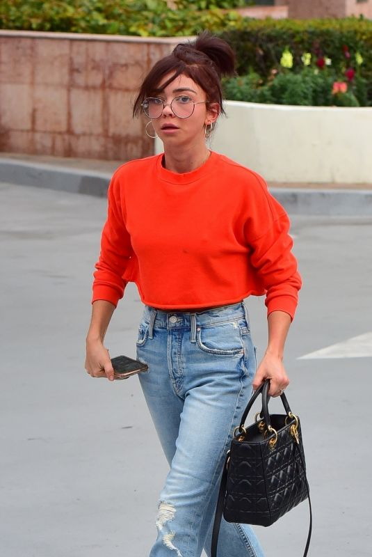 Sarah Hyland Beats the winter blues with a tan in Studio City