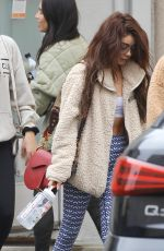 Sarah Hyland Heads to the gym in Studio City