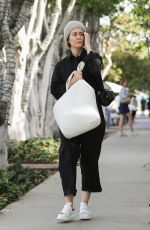Sarah Paulson Takes the sniff test as she shops for deodorant at Violet Grey on Melrose Place in West Hollywood