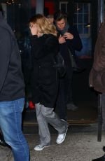 Scarlett Johansson Leaves the SNL after-party in New York City