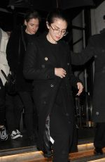 Selena Gomez Leaving her hotel wearing an all black outfit and heading to a dance studio in London
