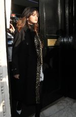 Selena Gomez Leaving the KISS FM UK Breakfast Radio Studios in London
