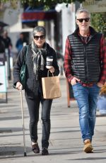Selma Blair Heads to lunch at Joan