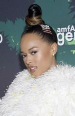Serayah At 5th Annual Holiday Event To Benefit amfAR at the Gitano Jungle Room in New York City