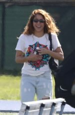 Shakira And Gerard Pique support their kids at soccer practice in Miami