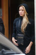 Shakira Spotted in Barcelona leaving a beauty salon