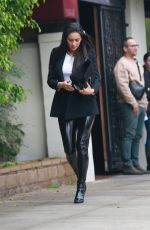 Shay Mitchell Attends lunch meeting at Matsuhisa in Beverly Hills