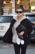 Shay Mitchell Gets a Pedicure in Los Angeles