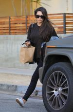 Shay Mitchell Leaves a beauty salon in West Hollywood