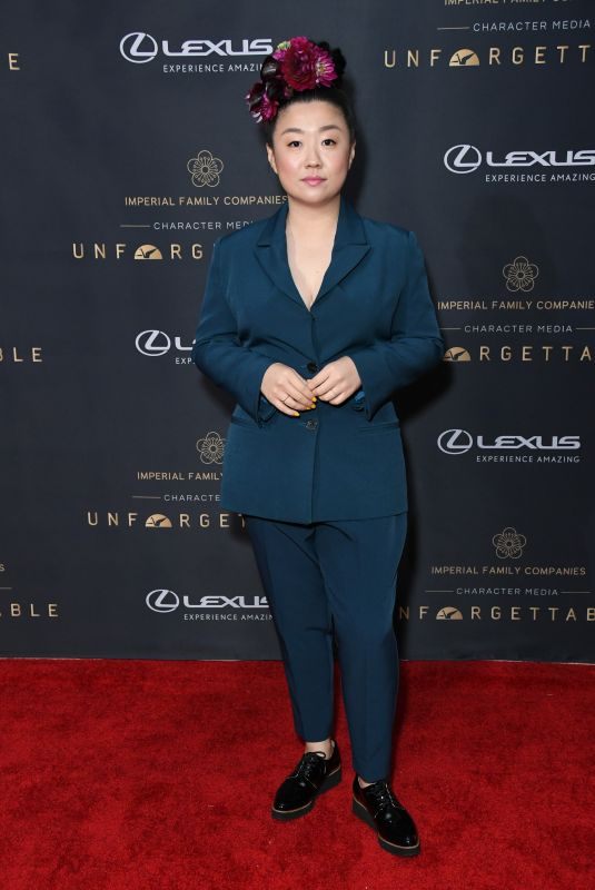 Sherry Cola At Unforgetttable Gala 2019 held at Beverly Hilton Hotel
