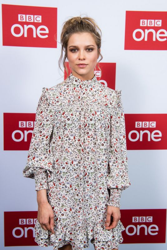 Sophie Cookson At The Trial of Christine Keeler Premiere in London