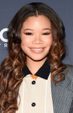 Storm Reid At 13th Annual CNN Heroes: An All-Star Tribute, Arrivals, American Museum of Natural History, New York