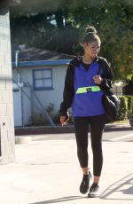 Storm Reid Walking back to her car after running errands in Los Angeles