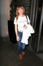 Summer Monteys-Fullam Attend the Off Limits Entertainment Christmas party at Savage Garden in London