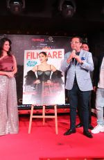 Sunny Leone At the launch of the Filmfare middle east December issue featuring her on the cover in Dubai
