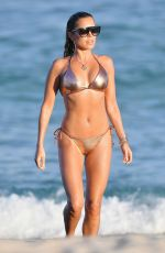 Sylvie Meis In hot Bikini on the Beach in Miami