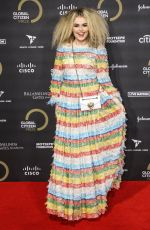 Tallia Storm At Global Citizen Prize 2019 at Royal Albert Hall in London