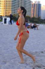 Tao Wickrath At the beach during Art Basel