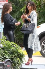 Teresa Giudice Heads out for lunch with a friend