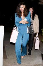 Victoria Justice Looks stunning as she leaves the peppermint Club in West Hollywood